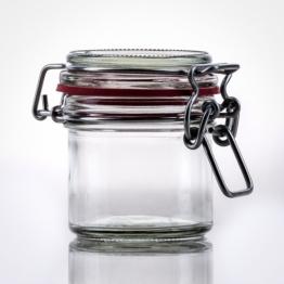 Drahtbügelglas 125 ml