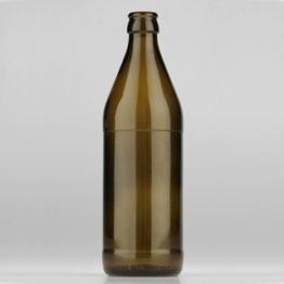 Euro Bierflasche 0,5 l braun CC Md
