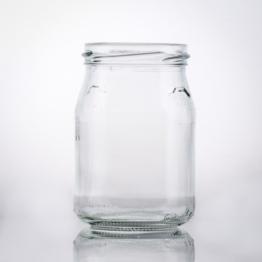 Joghurtglas 250g TO 63 weiß