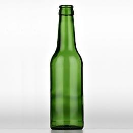Longneck Bierflasche 0,33 l CC grün