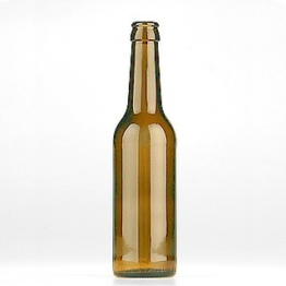 Longneck Bierflasche 0,33l CC braun