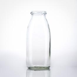 Milchflasche 0,25 l weiß TO 43