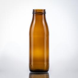 Milchflasche braun 0,50 ltr TO 48