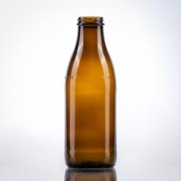 Milchflasche braun 1,00 ltr TO 48