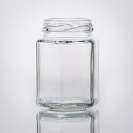 Sechskant Glas 116 ml TO 48