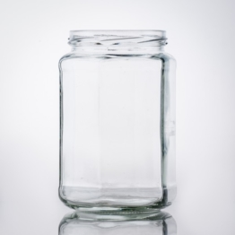 Sechskant Glas 720 ml TO 82