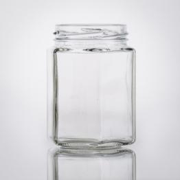 Sechskantglas 195 ml TO 58