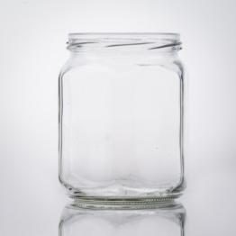 Sechskantglas 580 ml TO 82