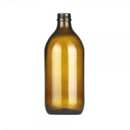 Sterilmilchflasche 0,50 l braun 28