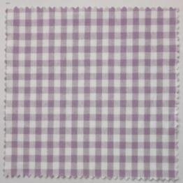 Textildeckchen Karo 12x12 cm lila