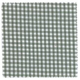 Textildeckchen Karo 15x15cm grün