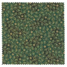 Textildeckchen Weihnachtsmotiv 12cm grün