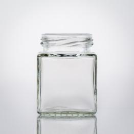 Vierkantglas 106 ml TO 48
