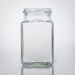 Vierkantglas 260 ml TO 58