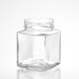 Vierkantglas 314 ml TO 66 deep