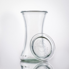 Weckglas - WECK-Delikatessenglas 200 ml RR60 inkl. Deckel