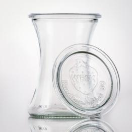 Weckglas - WECK-Delikatessenglas 370 ml RR80 inkl. Deckel