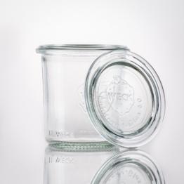 Weckglas - WECK-Mini-Sturzglas 140 ml Rundrand RR60 inkl. Deckel