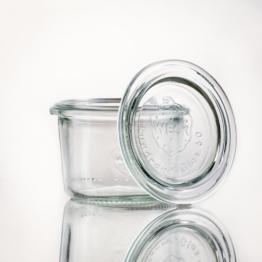 Weckglas - WECK-Mini-Sturzglas 80 ml Rundrand RR60 inkl. Deckel