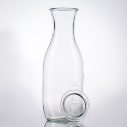 Weckglas - WECK-Saftflasche 1,0 l Rundrand RR60 inkl. Deckel