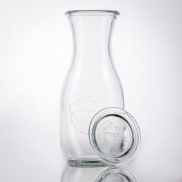 Weckglas - WECK-Saftflasche 1/2 l Rundrand RR60 inkl. Deckel