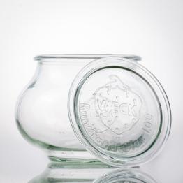 Weckglas - WECK-Schmuckglas 1,0 l Rundrand RR100 inkl. Deckel