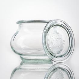 Weckglas - WECK-Schmuckglas 220 ml Rundrand RR 60 inkl. Deckel