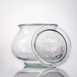 Weckglas - WECK-Schmuckglas 500 ml Rundrand RR80 inkl. Deckel