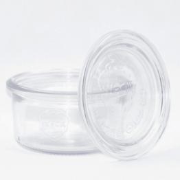 Weckglas - WECK-Sturzglas 165 ml Rundrand RR80 inkl. Deckel