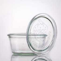 Weckglas - WECK-Sturzglas 290 ml RR100 Schale inkl. Deckel