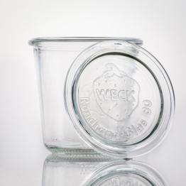 Weckglas - WECK-Sturzglas 290 ml Rundrand RR 80 inkl. Deckel