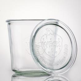 Weckglas - WECK-Sturzglas 580 ml Rundrand RR100 inkl. Deckel
