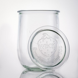 Weckglas - WECK-Tulpenglas 1 l Rundrand RR100 inkl. Deckel