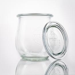 Weckglas - WECK-Tulpenglas 220 ml Rundrand RR60 inkl. Deckel