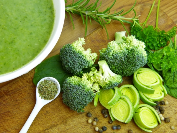 Brokkolisuppe einkochen