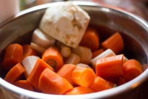 Gemüsebrühe einkochen Anleitung