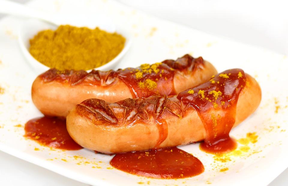 Currywurst einkochen