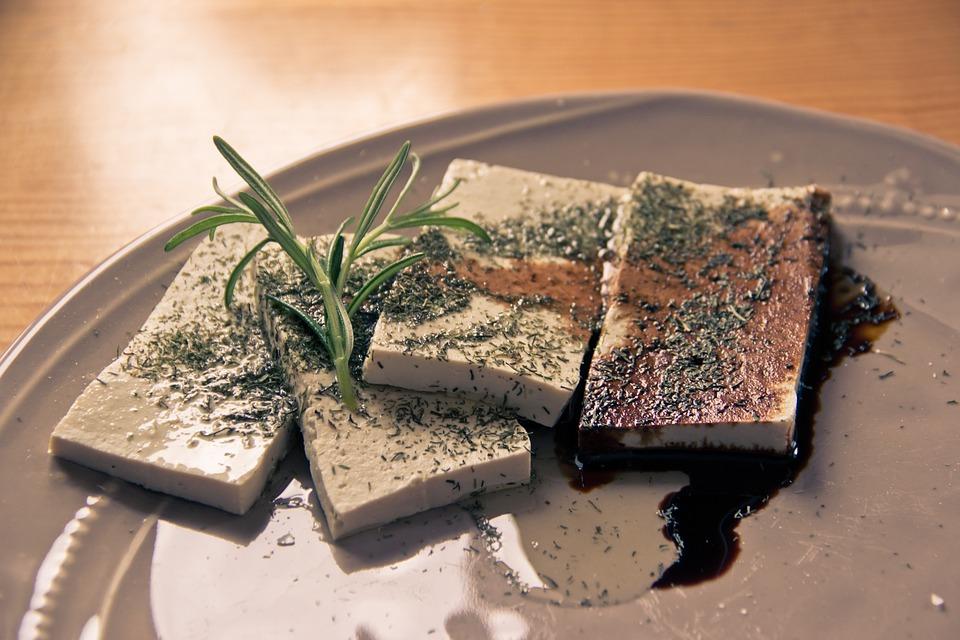 Tofu einkochen