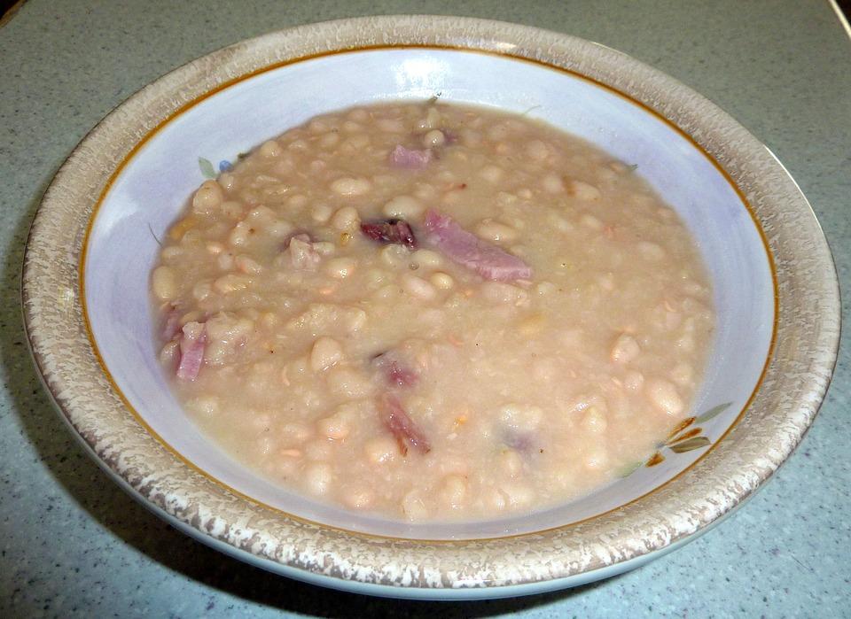Bohnensuppe einkochen