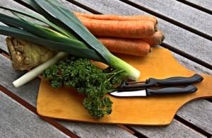 Gemüsebrühe einkochen Rezept