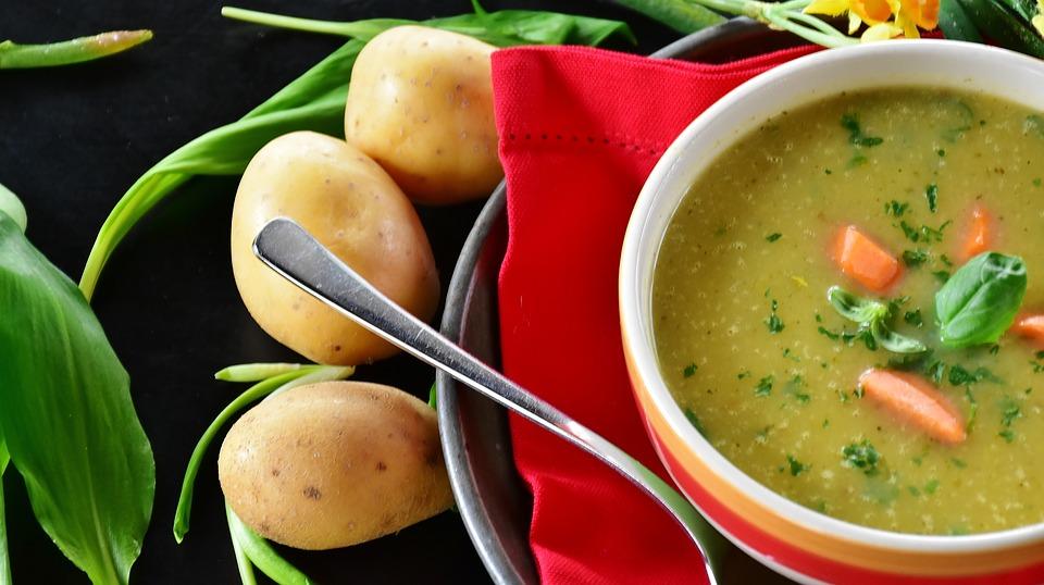 Kartoffelsuppe einkochen