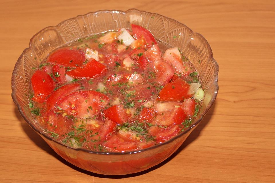 Tomatensalat einkochen