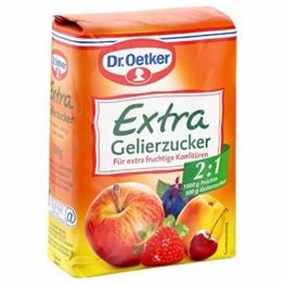 Dr. Oetker Gelierzucker Extra 2,1, 7er Pack (7 x 500 g Packung) - 1