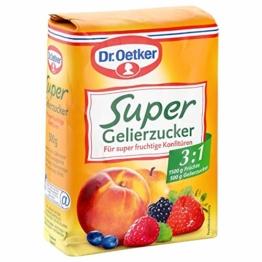 Dr. Oetker Gelierzucker Super 3,1, 7er Pack (7 x 500 g) - 1