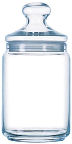 Luminarc ARC 34819 Big Pot Club Dose mit Deckel, Vorratsglas, Bonbondose, 2 Liter, Glas, transparent, 1 Stück - 1