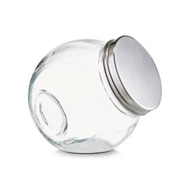"Vorratsglas ""Candy"" 450ml - 12 x 8,5 x 12,5 cm - Bonbonglas - Dekoglas - 1"